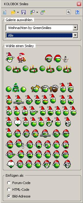 ksmile Sidebar Weihnachten