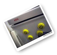 Magnetic Smileys