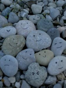 Stones don't smile
