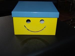 Lachende Box