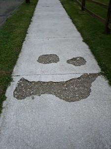 Sidewalk Face