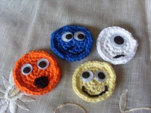 Häkel-Smileys