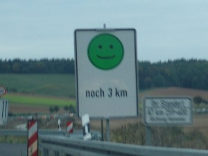 Autobahn-Smiley