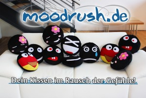 Moodrush - Smiley Kissen